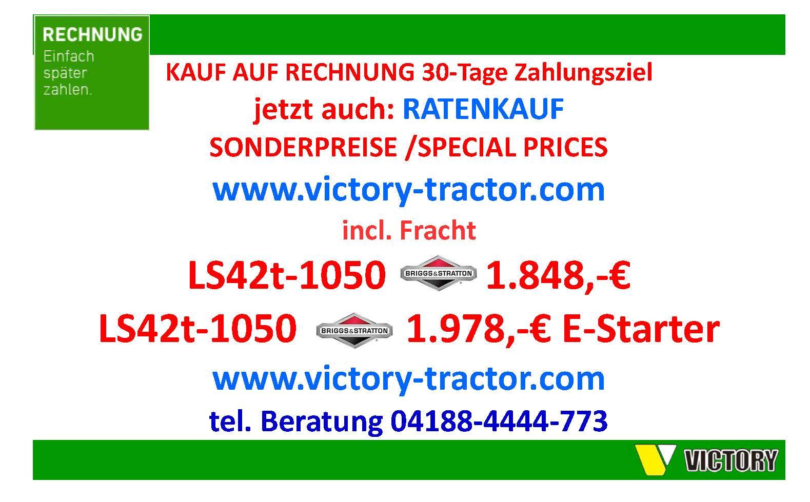 Victory ls-42t fendeuse 30 to Briggs /& Stratton 15ps hubbegrenzung Élévateur De Racine