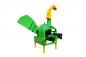 Preview: BX-52-42-wood shredder wood chipper wood cutter disc chipper-rear side view