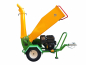 Preview: GTS-1500-wood-chipper-wood-shredder-15hp engine-side view right