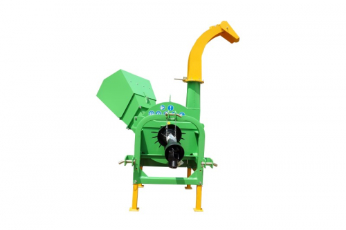 BX-52-42-wood shredder wood chipper wood cutter disc chipper-rear view