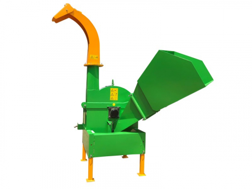 BX-52-42-wood shredder wood chipper wood cutter disc chipper-side view front left