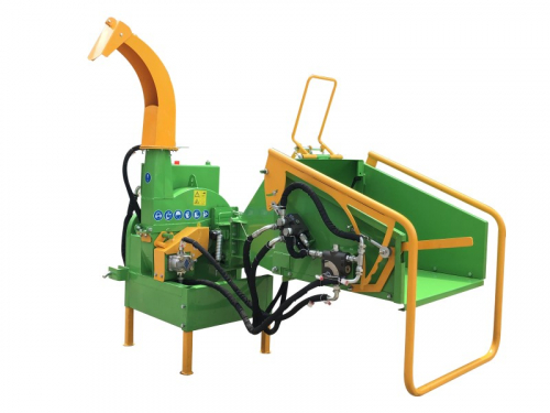 Victory BX-52RS Wood Chipper  Wood Shredder with tractor independant hydraulic tank + pump