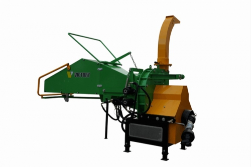 WC-8H-wood-chipper-wood-shredder left side rear