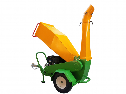 GTS-1500-wood-chipper-wood-shredder-15hp engine-funnel mounting