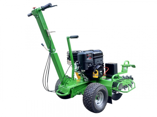 garden trencher cable trencher trench digger GGF-1500 rear right