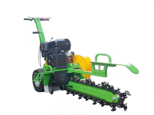 garden trencher cable trencher trench digger GGF-1500 front side