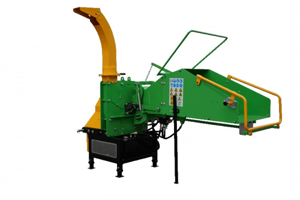 WC-8H-wood-chipper-wood-shredder right side front