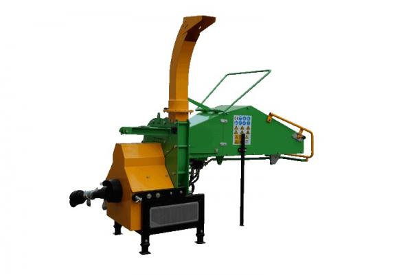 WC-8H-wood-chipper-wood-shredder right side rear