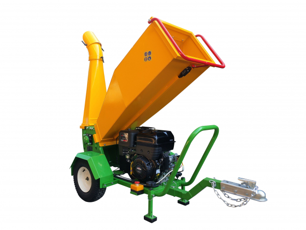 GTS-1500-wood-chipper-wood-shredder-15hp engine-side view rear right