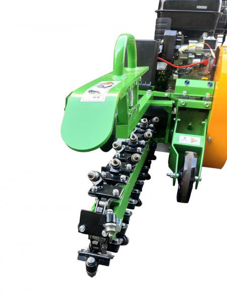 garden trencher cable trencher trench digger GGF-1500 detail chain