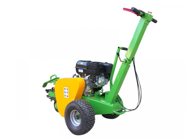 garden trencher cable trencher trench digger GGF-1500 rear side