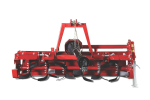 Victory HTLG - professional Rotary Tiller -  20 - 45hp -  100 to 140cm working width - side transmission - up to 18cm tilling depth